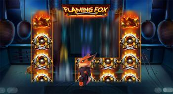 Flaming Fox Slot Screenshot