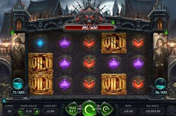 Wolf Hunters Slot Screenshot