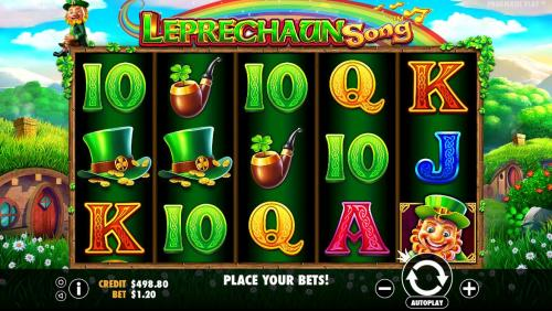 Leprechaun Song Spielautomat Screenshot