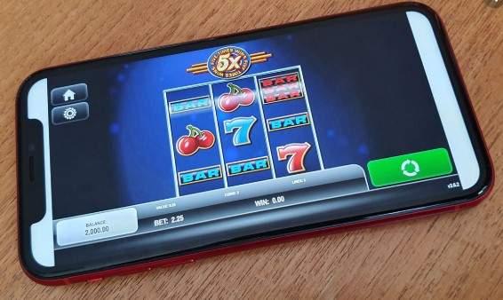 Slots auf dem Handy spielen