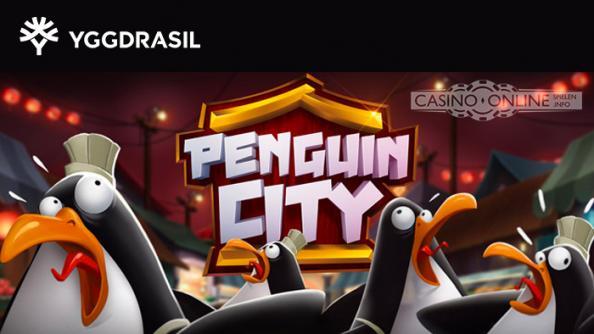 Penguin City Yggdrasil Spielatuomat
