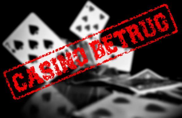 Casino Betrug online?