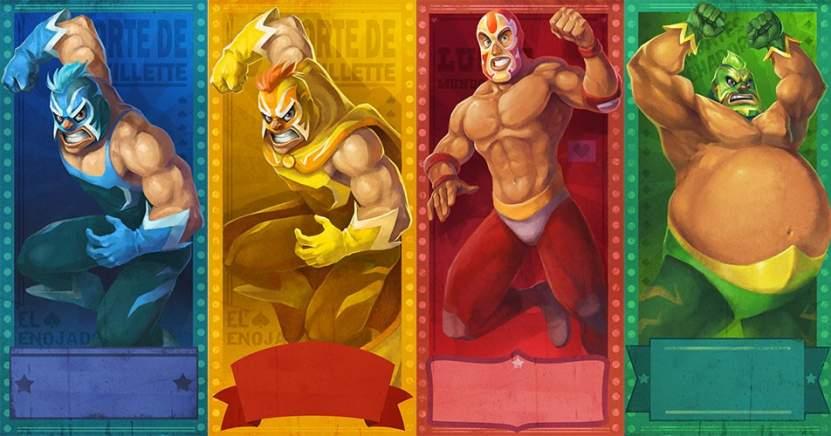 4 Wrestler