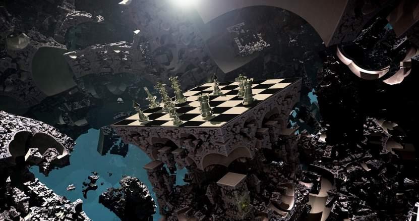 Fliegendes Schachbrett