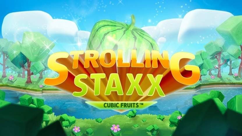 Neuer Slot Strolling Staxx von NetEnt